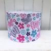 30cm Hand Block Printed Drum Lampshade- Lampshade Kit