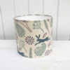 20cm Block Printed Mixed Seed Head Lampshade