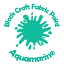 Block Craft Fabric Paint- Aquamarine