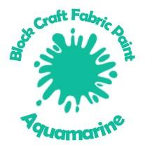 Block Craft Fabric Paint- Aquamarine