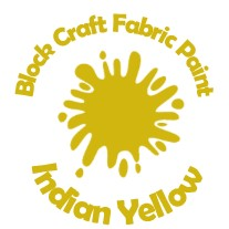 Block Craft Fabric Paint- Indian Yellow