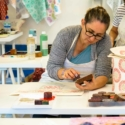 Block Printing Workshop, The Studio Oxfordshire