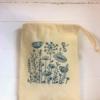 Meadow Printed Drawstring Bag