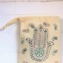 Ethnic Hand Block Printed Fabric Bag