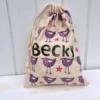 Personalised Block Printed Fabric Bag