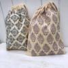 Paisley Printed Drawstring Bags