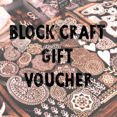 Block Craft Gift Voucher