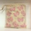 Fabric Block Printed Drawstring Bag