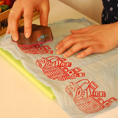 How to run your own Block Printing Workshop