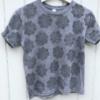 Block Printed Tshirt using Slate Fabric Paint