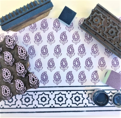 Traditional Indian Block Printing Workshop