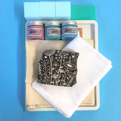 Meadow Block Printing Kit