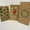 Block Printed Christmas Bags