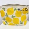 Medium Wash Bag print in a Leafy Lemon design