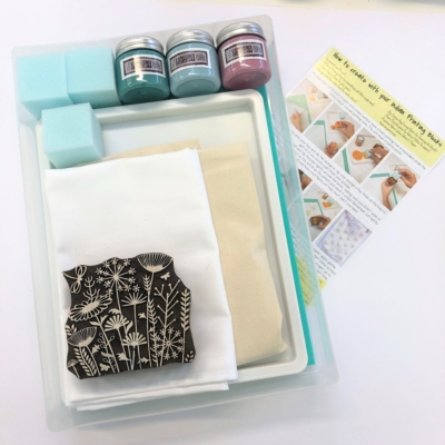 Complete Block Printing Kit - Meadow