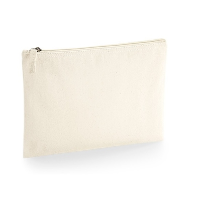 Cotton Canvas Accessory Pouch