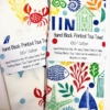 Hand Print your own Cotton Tea Towels