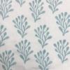 Indian Block Printing Fabric- Medium Seaweed Sample