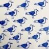 Indian Block Printing- Seagull Fabric Print Sample
