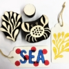 Indian Wooden Printing Blocks- Sea Life & Nautical Designs