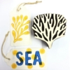 Indian Printing Blocks- Sea Life Designs