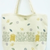 Meadow Scene Block Printed Maxi Bag