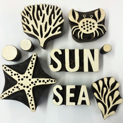 Sea Life & Nautical Blocks