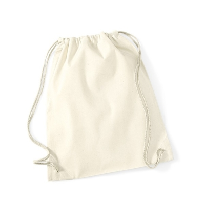 Organic Cotton Gym Bag