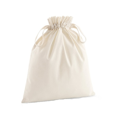 Organic Cotton Soft Drawstring Bag