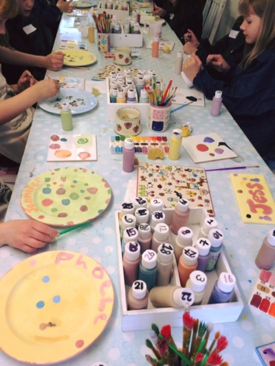 Pottery Painting Summer Holiday Workshop