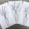 Hand Block Printed Flowers in Vase