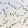 Hand Block Printed Fabric- Long Leaf Stem