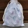 Hand Block Printed Organic Bag in Seed Head design