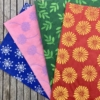 Hand print your own Tissue Paper using Indian Printing Blocks