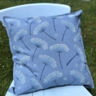 Hand Block Printed Botanical Cushion Cover
