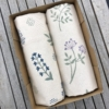 Hand Block Printed Tea Towel Gift Box