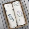 Hand Block Printed Tea Towel Gift Box