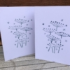 Hand Print Cards using Indian Printing Blocks