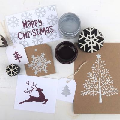 Christmas Indian Block Printing Workshop