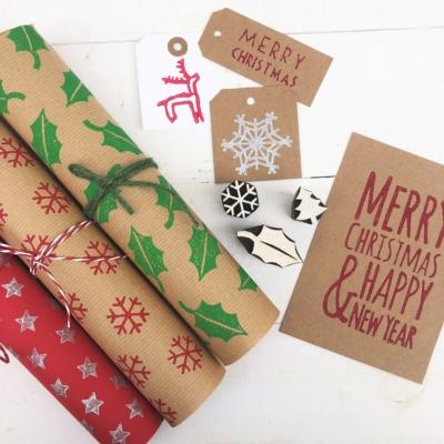 Christmas Stationery Printing Workshop