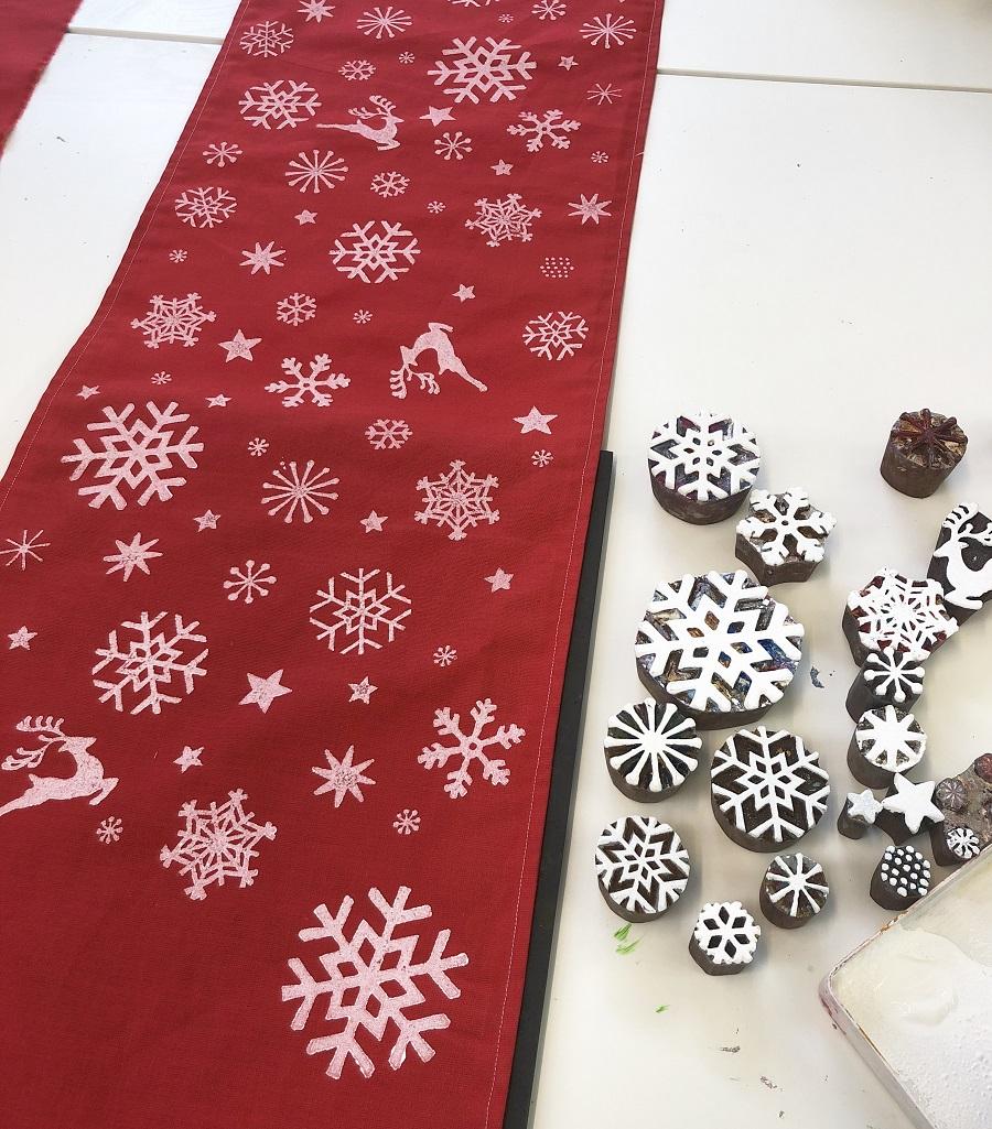 Christmas Table Runner To Make.16th Nov Christmas Table Runner Workshop