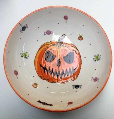 Halloween Pottery Painting Workshop