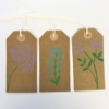 Hand Block Printed Gift Tags