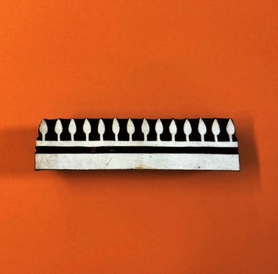 Indian Wooden Printing Block - Ethnic Border