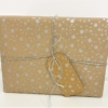 Starry Tile Design Wrapping Paper Presents