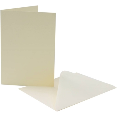Pack of Ivory Cards with Envelopes