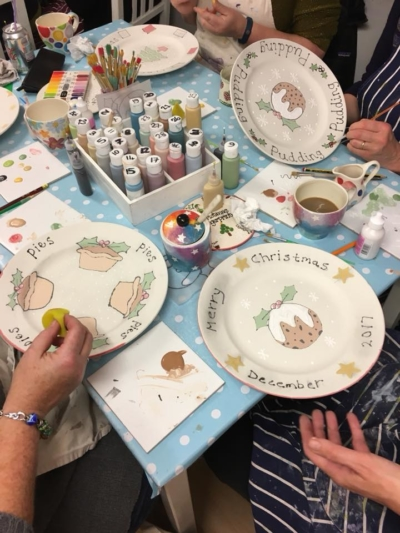 Print a Christmas Plate Workshop