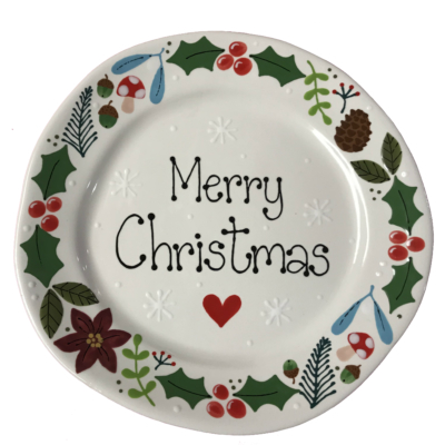 Paint a Christmas Plate Workshop