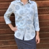 Hand Block Printed Cotton Shirt