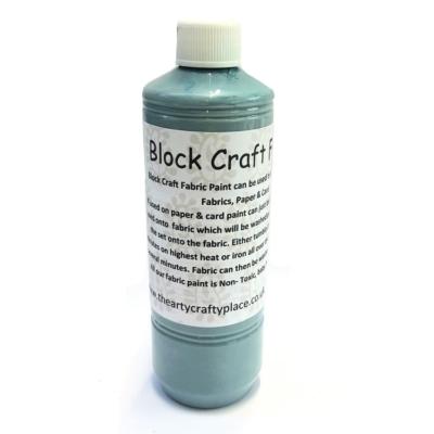 500ml Indian Aqua Fabric Paint
